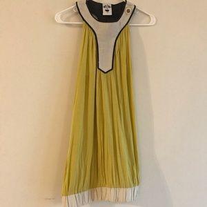 Nuvula Yellow and Cream Dress